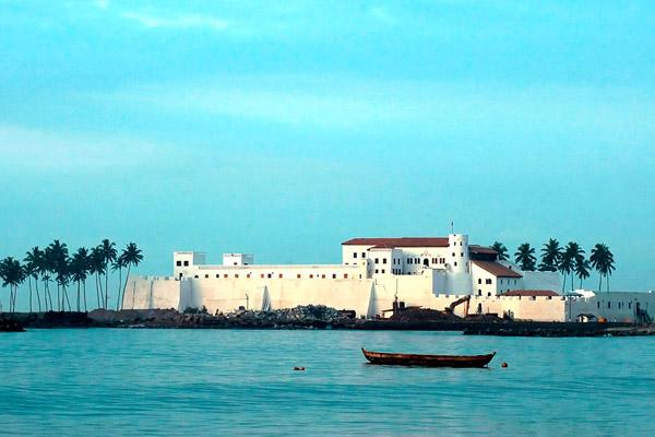 Elmina Castle in Elmina, Ghana