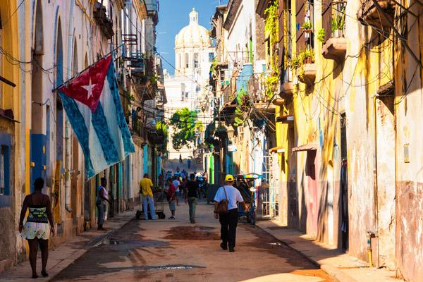 Old Havana in Cuba