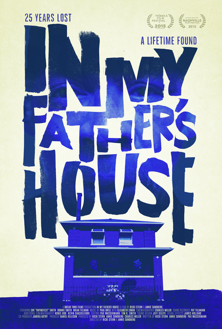 'In My Father's House' an award-winning documentary, shares the story of Rhymefest journey to find his father and reconcile with him. Opening in select theaters nationwide, today, October, 9, 2015.