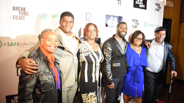 The entire Smith family attended the VIP screening in Chicago, IL at the Music Box Theater. Photo Credit: Juan Anthony Images