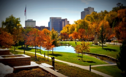 salt lake city autumn