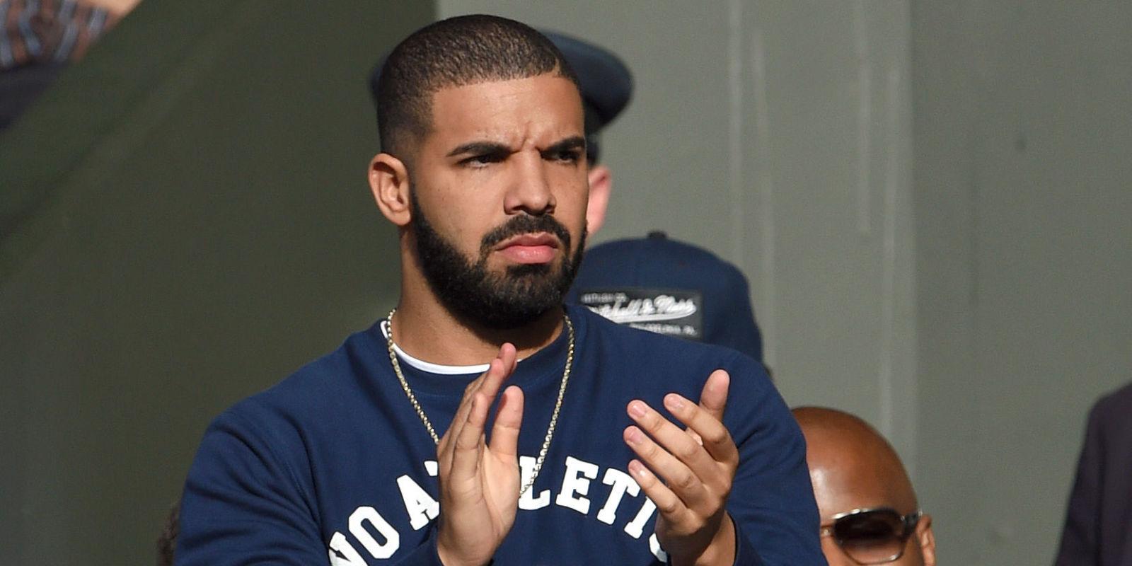 Drake clapping