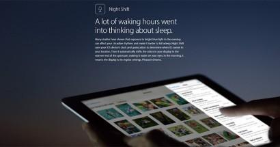 Apple night shift will help combat insomnia