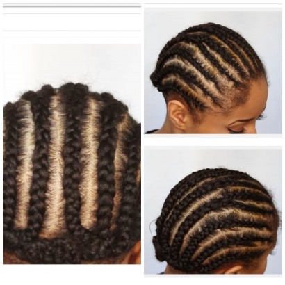 Crocheting Your Hair : How To Braid Your Hair For Crochets - Braids