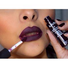 Fall Lip Pick: NYX Soft Matte Lip Cream in Copenhagen  Nyx Matte Lipstick Sierra Dark Skin