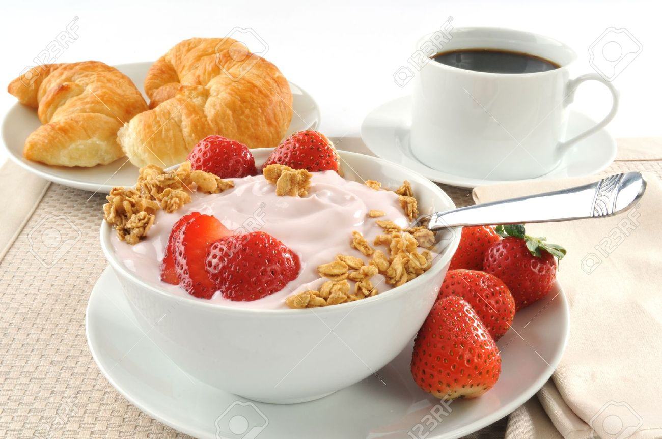 Coffee Yogurt My Cafe