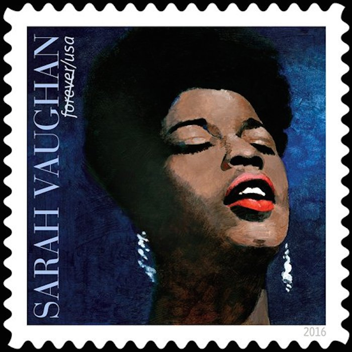 USPS will unveil a forever stamp for jazz singer Sarah Vaughan