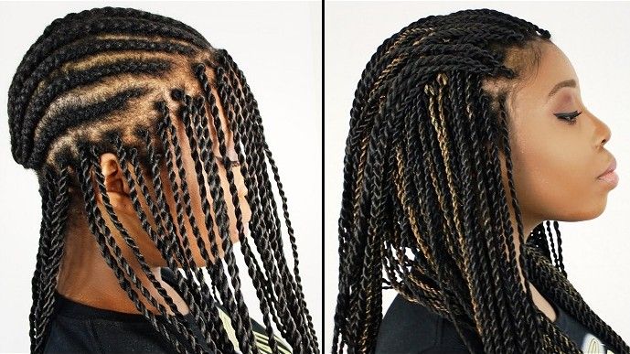 Crochet Braids And Cornrows : crochet braids