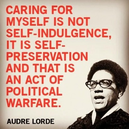is self-care a privileged act