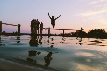 ocean jumping