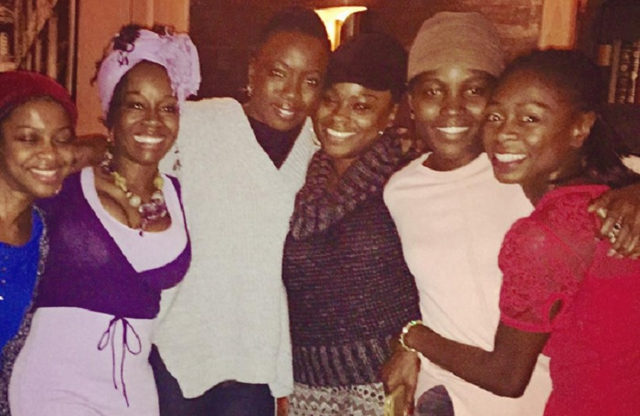 Danai Gurira and Eclipsed Cast