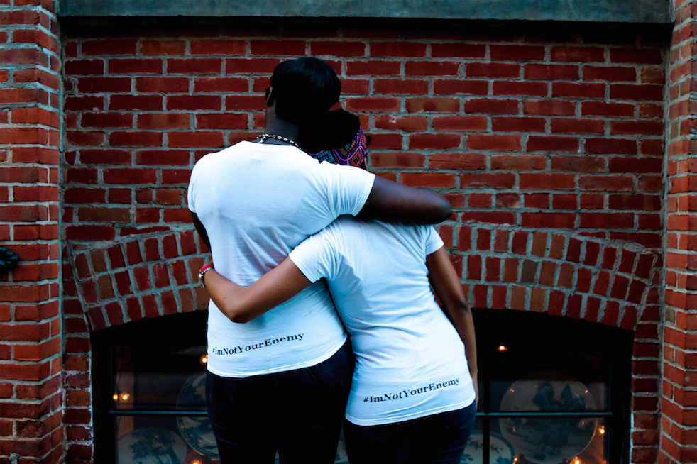 Tattiana Bamba and Tayllor Johnson. Photo: Ryan McCaulsky/edited by Amanda Moore-Karim