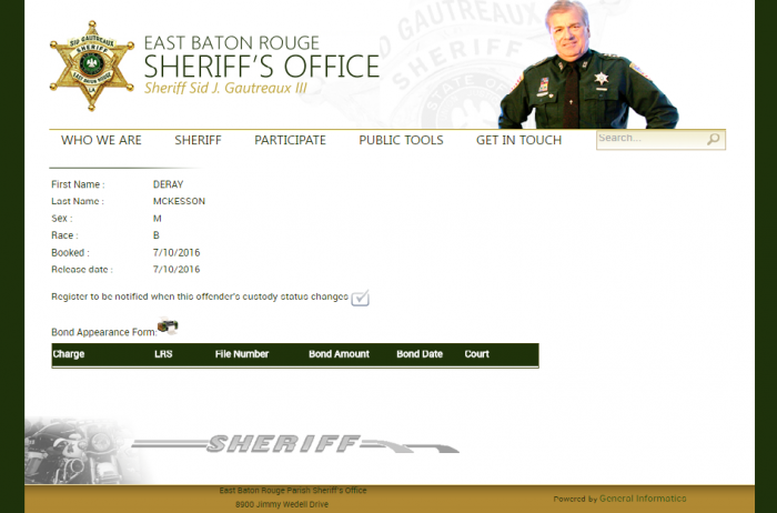 Photo: Baton Rouge Sheriff's Office