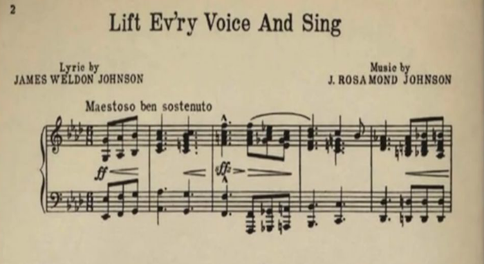 lift ev ry voice and sing defined About lift every voice and sing a group of young men in jacksonville, florida,  arranged to celebrate lincoln's birthday in 1900 my brother, j.