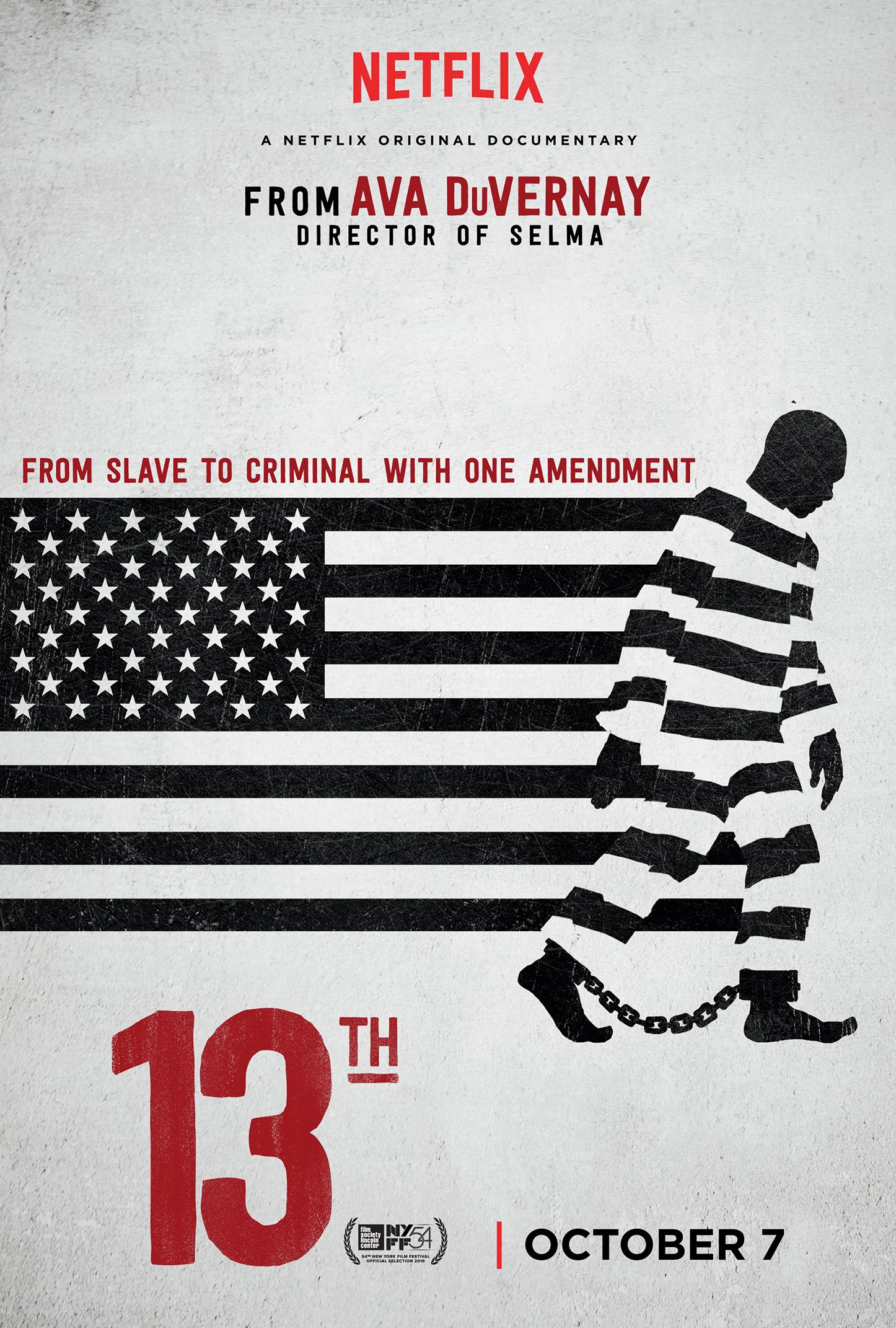 ava duvernay mass incarceration documentary